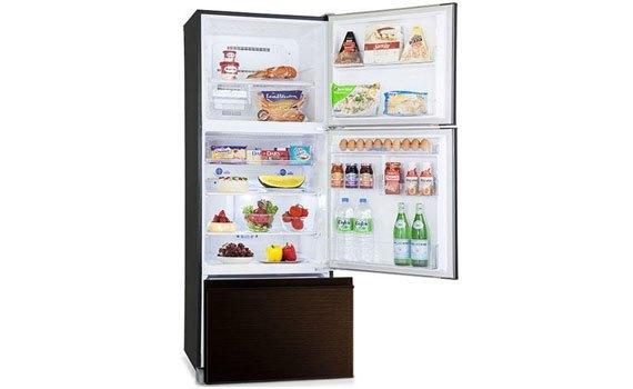 Tủ lạnh loại nào tốt? Tủ lạnh Mitsubishi Electric MR-V50EH 414 lít nâu