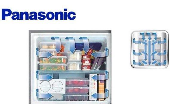 Tủ lạnh loại nào tốt? Tủ lạnh Panasonic NR-BJ151SSV1 135 lít