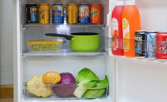 Mua tủ lạnh ở đâu tốt? Tủ lạnh Panasonic NR-BJ151SSV1 135 lít
