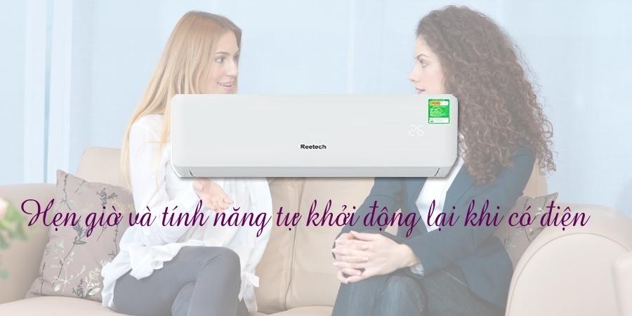 Máy lạnh Reetech RT12-DB 1.5 HP sử dụng bền tốt