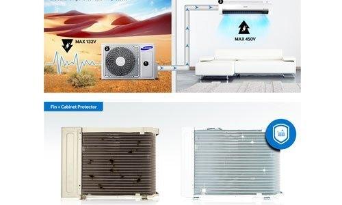 Máy lạnh Samsung AR12JVFSBWKNSV 1.5 HP sử dụng bền tốt