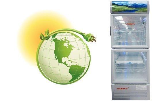 Tủ mát Sanaky VH-358W 290 lít tiết kiệm điện hiệu quả