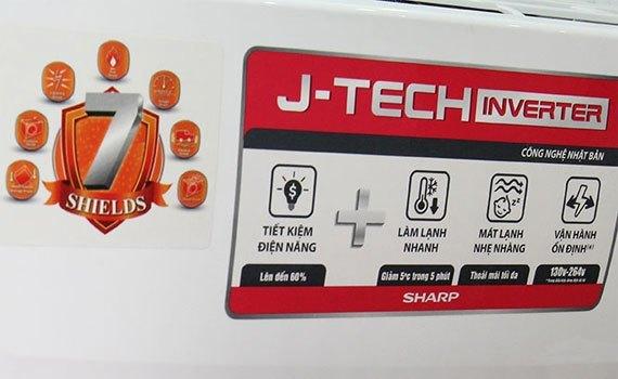 Máy lạnh Sharp AH-X9SEW 1 HP tiết kiệm điện năng