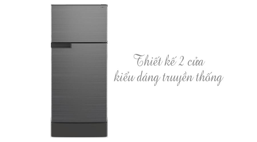 Tủ lạnh Sharp 165 lít SJ-195E bán trả góp 0% tại nguyenkim.com
