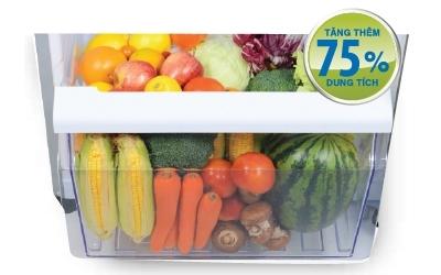 Tủ lạnh Toshiba GR-T39VUBZ(FS) 330 lít làm lạnh nhanh