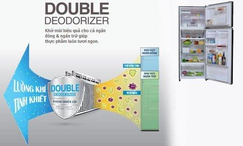 Tủ lạnh Toshiba GR-T46VUBZ (LS1) 490 lít bán trả góp tại nguyenkim.com