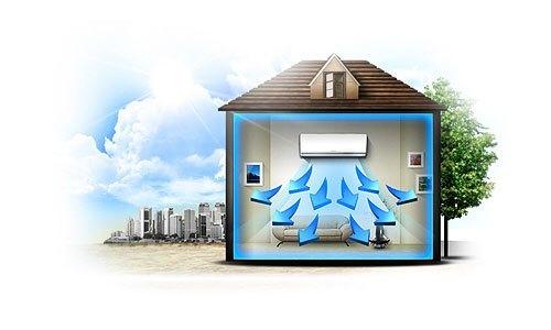 Máy lạnh Toshiba RAS-13N3K-V 1.5 HP làm lạnh nhanh hiệu quả