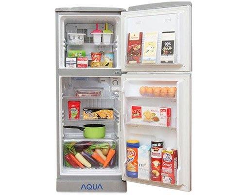 Tủ lạnh Aqua AQR-145AN (SS) 130 lít giá tốt tại nguyenkim.com
