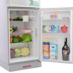 Mua tủ lạnh trả góp, tủ lạnh Sanyo SR-145PN dung tích 130 lít