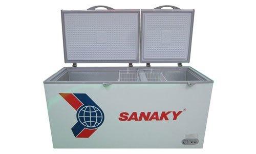 Tủ đông Sanaky VH-668HY2 mang thiết kế hiện đại