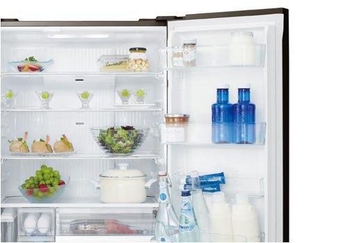 Tủ lạnh Panasonic NR-F510GT-X2 bảo quản chai lọ thuận tiện