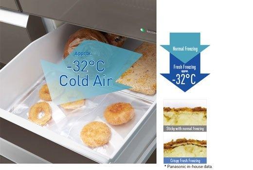 Tủ lạnh Panasonic NR-F510GT-X2 dung tích 489 lít, tủ lạnh tiết kiệm điện