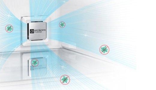 Tủ lạnh Samsung RT43H5231SL khử mùi lọc không khí hiệu quả