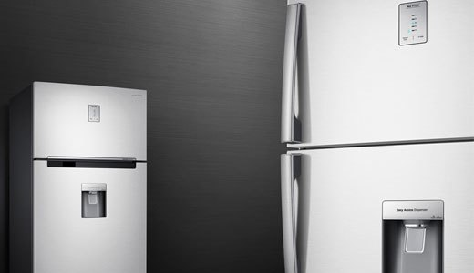 Tủ lạnh Samsung RT43H5231SL thiết kế kim loại sang trọng