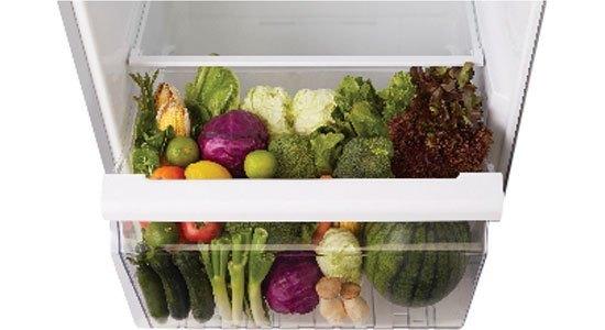 Tha hồ dự trữ rau quả với tủ lạnh Toshiba GR-TG46VPDZ (ZW1)