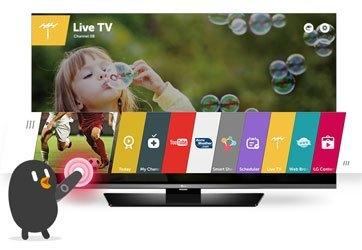 Tivi LED LG 40LF632T chạy nền tảng WebOS