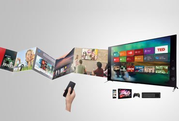 Tivi LED Sony 55X9000C sử dụng hệ điều hành Android