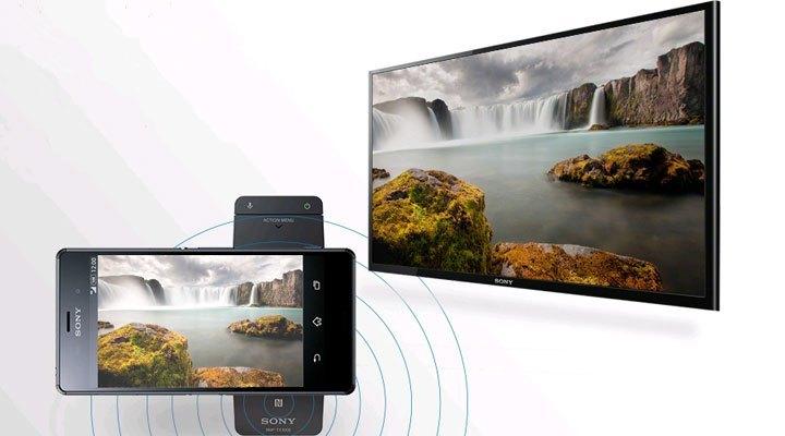 Tivi Led Sony KDL-55W800C ti vi sony kết nối chạm NFC