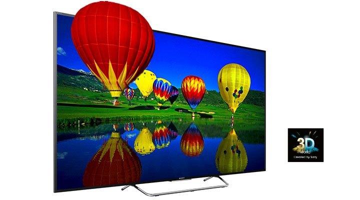 Tivi Led Sony KDL-55W800C hình ảnh 3D tuyệt đẹp