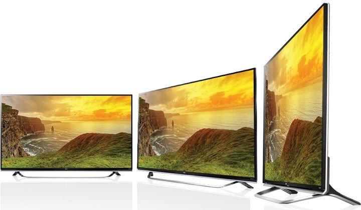 TV Led LG 60UF770T màn hình IPS 4K xem hình ảnh đẹp ở mọi góc độ