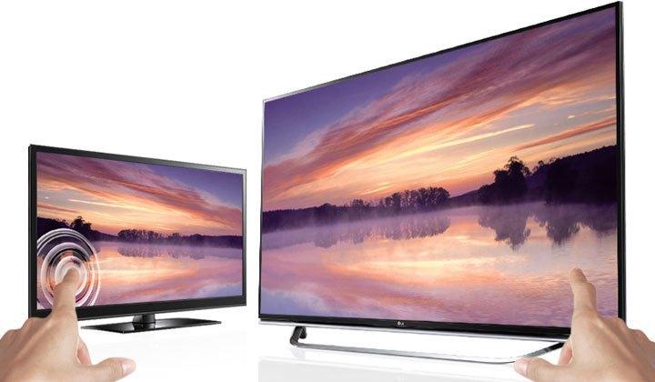 Tấm nền màn hình IPS 4K bền bỉ với TV LCD Led LG 60UF770T