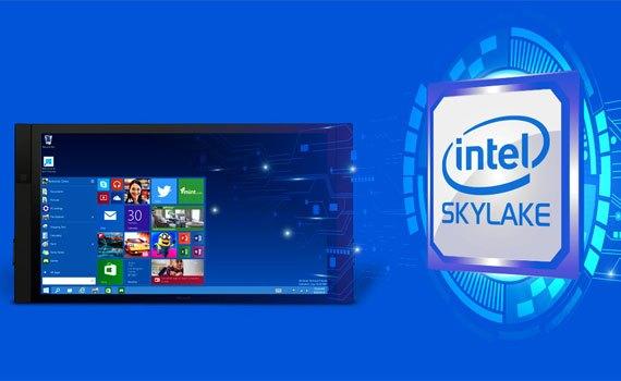 Máy tính xách tay Dell Inspiron 15 5559 sử dụng chip Intel Skylake