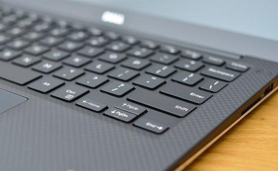 Máy tính xách tay Dell XPS 13 9350 trang bị bàn phím hiện đại
