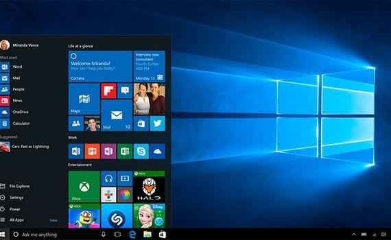 Máy tính xách tay Dell XPS 13 9350 chạy nền tảng Windows 10