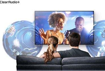 Công nghệ tinh chỉnh âm thanh Clear Audio+ trên TV Led Sony KD-55X8500C