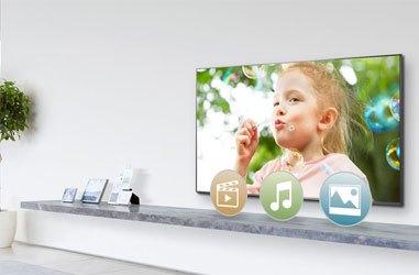Tivi LED Panasonic TH-40CS620V có thiết kế mỏng