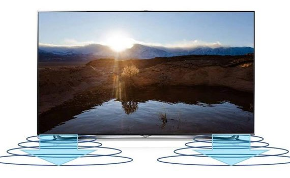 4K TVs Sharp LC-58UA330X vivid surround sound