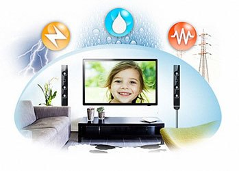 Tivi LED Samsung UA48J5100 trang bị bộ ba bảo vệ