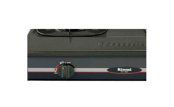Bếp gas Rinnai RV-860GSB(M) hệ thống đánh lửa magneto dễ sử dụng