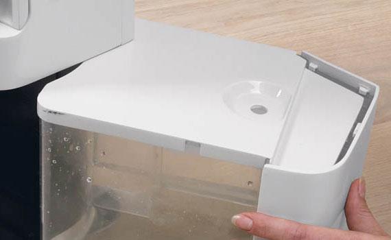 Máy hút ẩm Delonghi DES16EW hệ thống xả nước kép