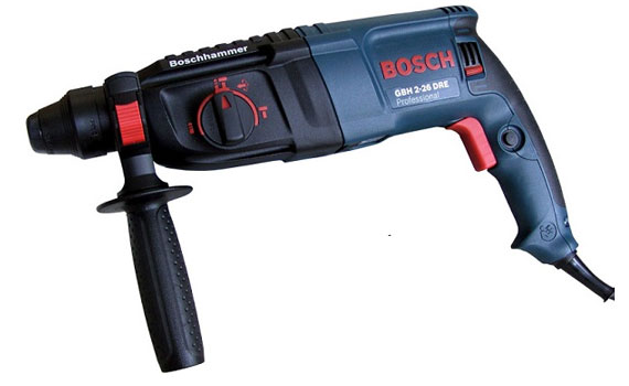 Máy khoan búa Bosch GBH 2-26 DRE thiết kế phù hơp
