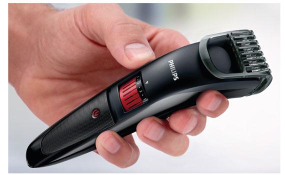 Máy tạo kiểu râu Philips QT4005 có tay cầm tiện dụng