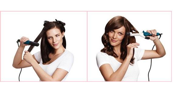 Mái tóc đẹp tự nhiên với máy tạo kiểu tóc Philips HP8698