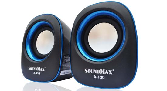 Loa vi tính Soundmax A130 thiết kế nhỏ gọn