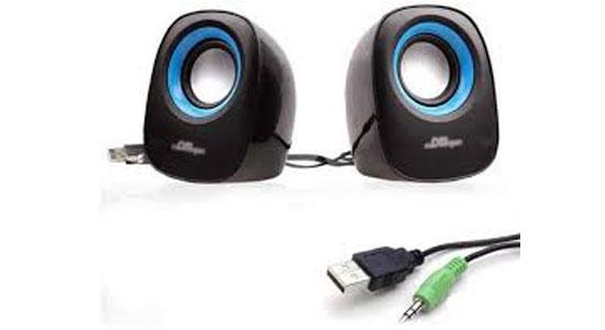 Loa vi tính Soundmax A130 hỗ trợ kết nối USB