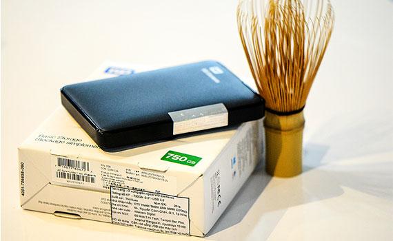 Ổ cứng di động WD Element portable 750GB kích thước nhỏ gọn