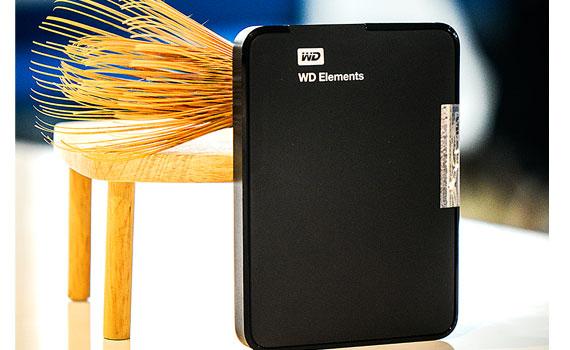 Ổ cứng gắn ngoài WD Element portable 750GB Black Apac dung lượng lưu trữ 750GB