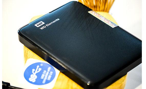 Ổ cứng gắn ngoài WD Element portable 750GB Black Apac tương thích USB 3.0/2.0