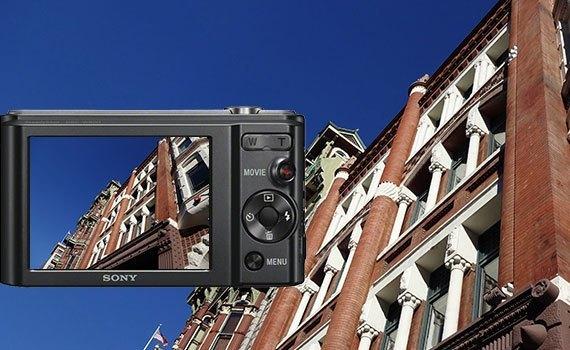 Máy ảnh Sony DSC-W830 có kiểu dáng hiện đại
