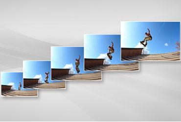 Vi xử lý hình ảnh Digic 5+ chụp 6 hình/giây với máy ảnh Canon EOS 5D Mark III