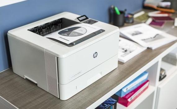 Máy in HP LaserJet Pro M402DN có thiết kế hiện đại