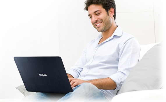 Máy tính xách tay Asus K401LB với bàn phím và touchpad hiện đại