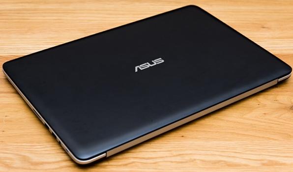 Máy tính xách tay Asus K501LX có thiết kế mỏng, sang trọng