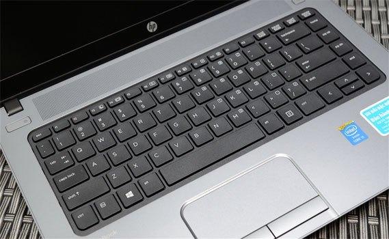Máy tính xách tay HP ProBook 440 G3 với bàn phím hiện đại