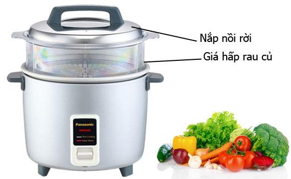 Nồi cơm điện Panasonic SR-W18GSLRA 1.8 lít giá rẻ tại điện máy Nguyễn Kim