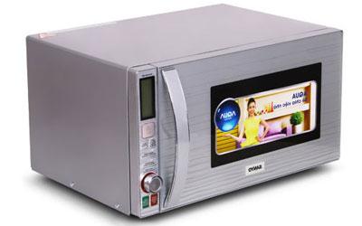 Lò vi sóng Sanyo EM-G5814ST 25 lít sử dụng bền tốt